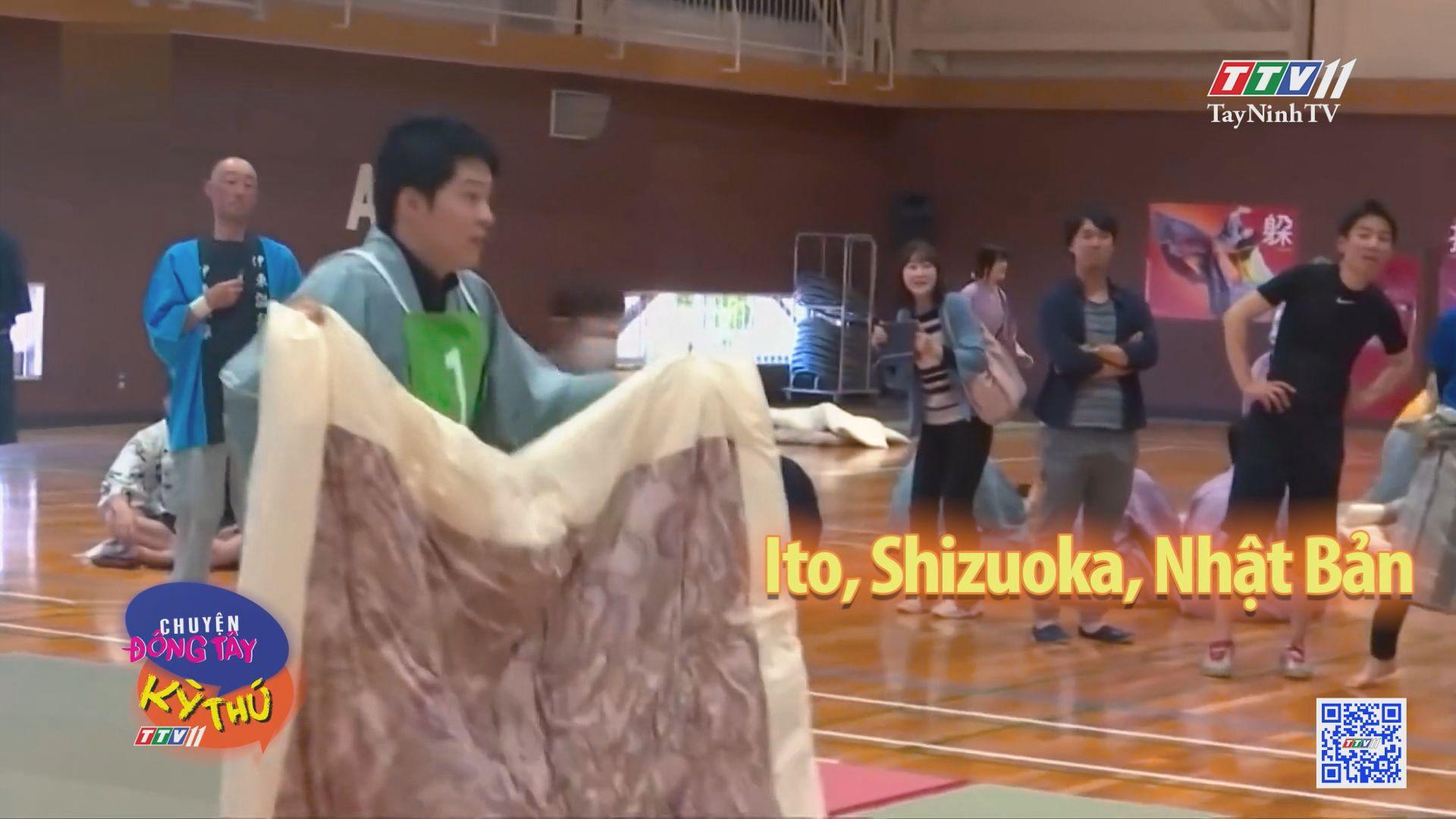 Cuộc thi ném gối độc đáo ở Nhật Bản | CHUYỆN ĐÔNG TÂY KỲ THÚ | TayNinhTV