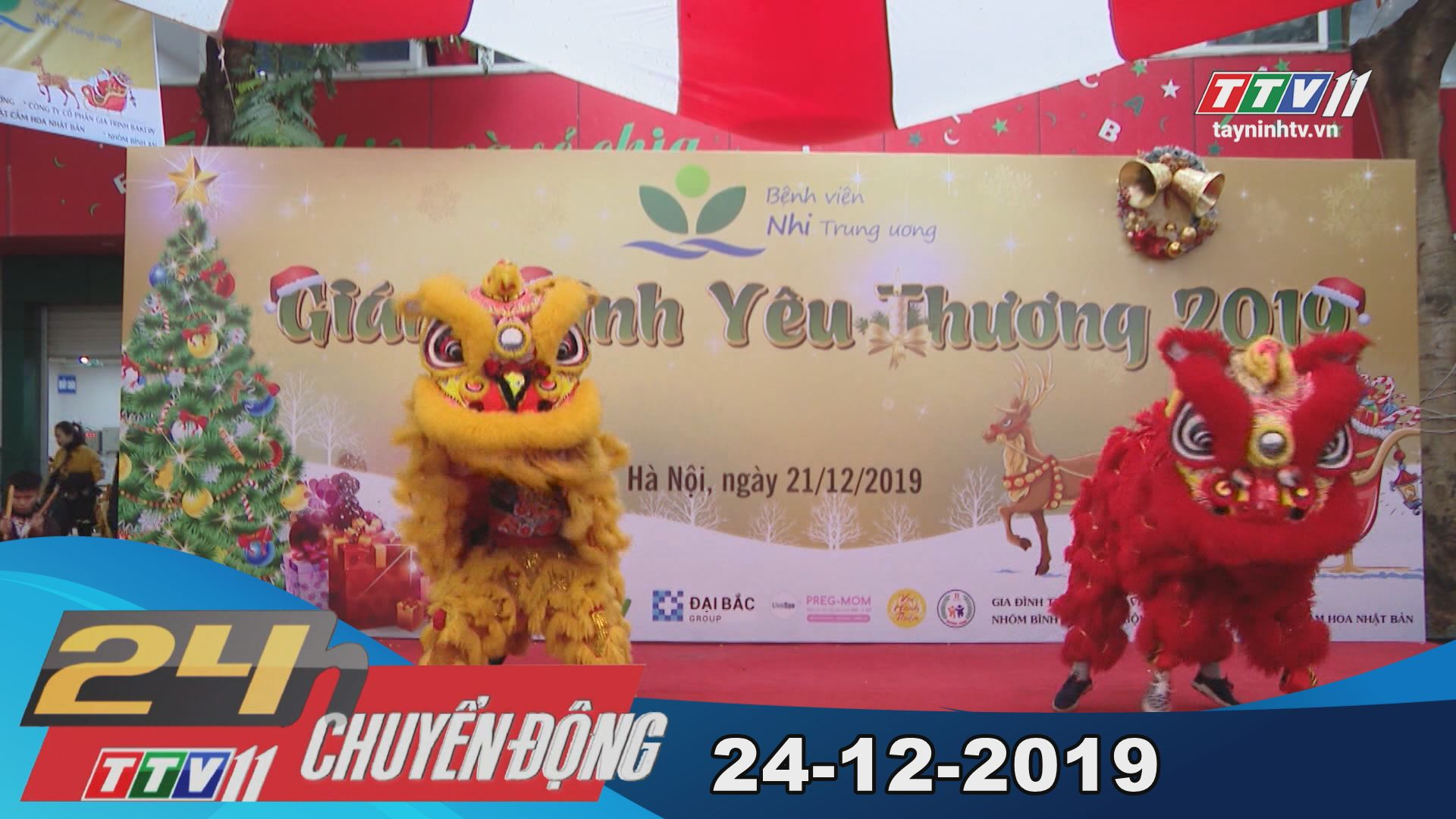 TayNinhTV | 24h Chuyển động 24-12-2019 | Tin tức hôm nay