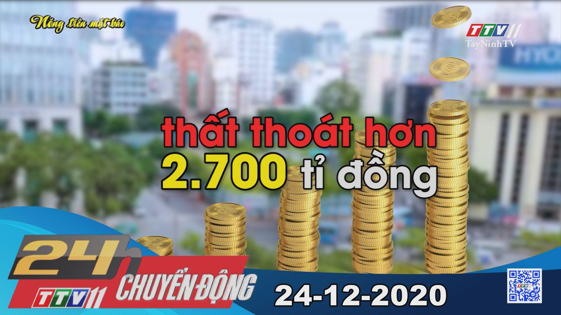 24h Chuyển động 24-12-2020   Tin tức hôm nay   TayNinhTV