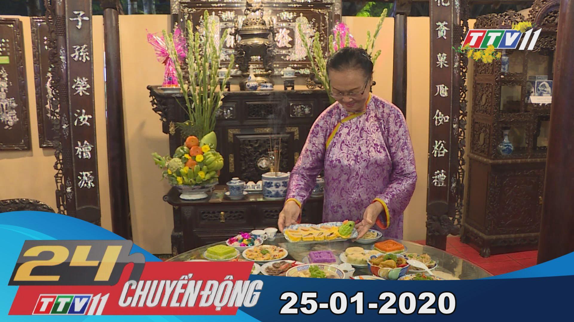 24h Chuyển động 25-01-2020 | Tin tức hôm nay | TayNinhTV