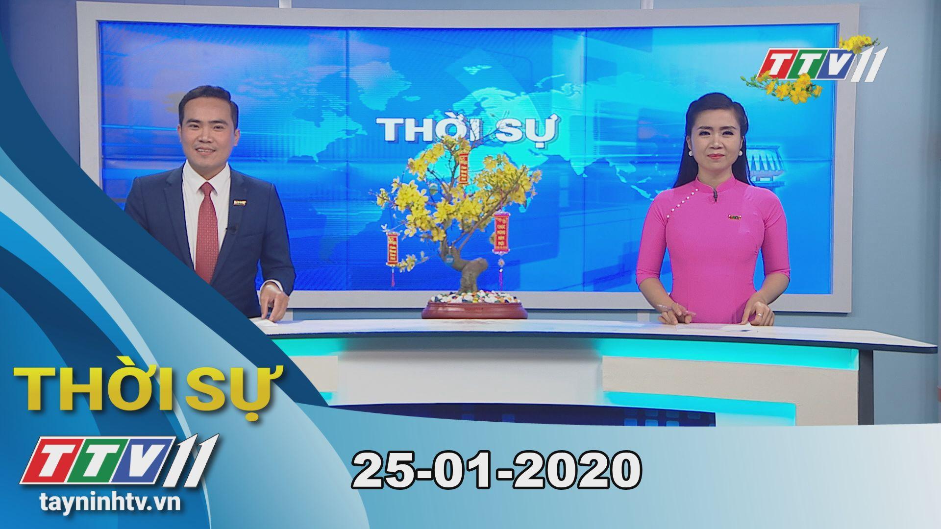 Thời sự Tây Ninh 25-01-2020 | Tin tức hôm nay | TayNinhTV