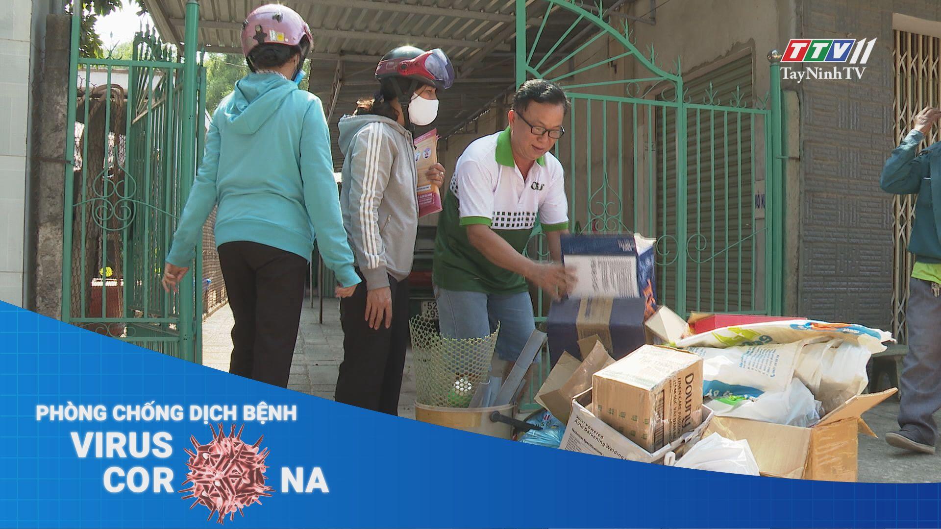 Đổi rác thải lấy khẩu trang y tế | THÔNG TIN DỊCH CÚM COVID-19 | TayNinhTV