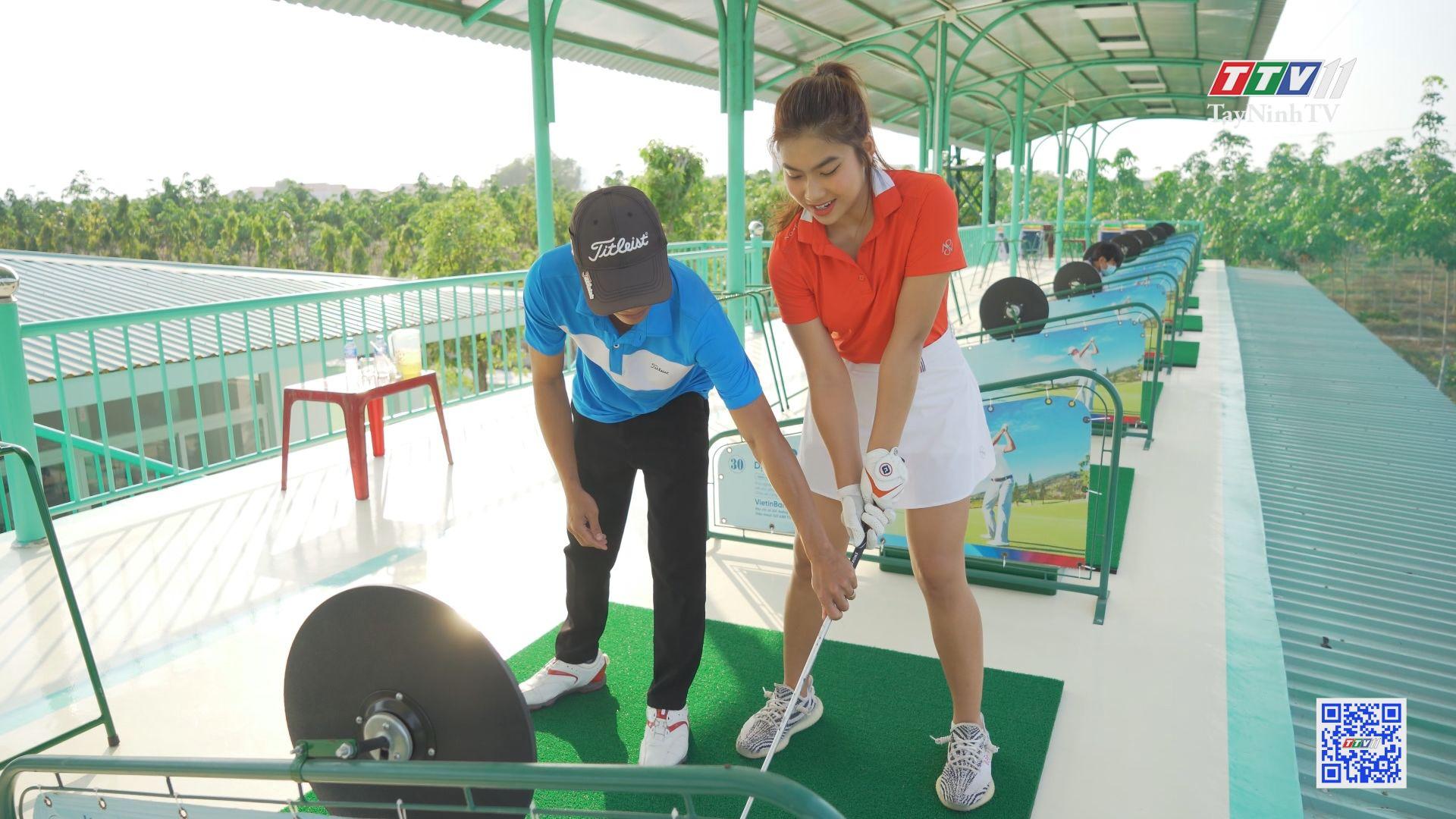 Bên trong sân tập Golf đầu tiên tại Tây Ninh | TâyNinhTVE