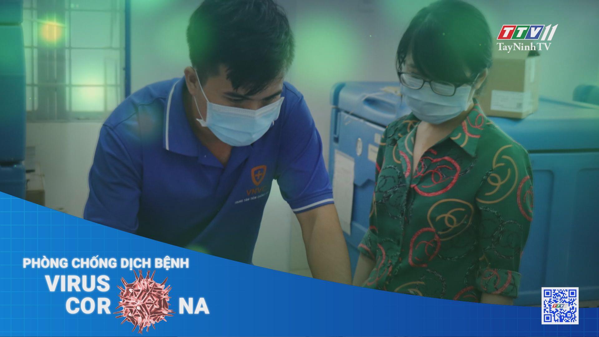 Đảm bảo các điều kiện an toàn tiêm chủng vaccine dự phòng Covid-19 | THÔNG TIN DỊCH CÚM COVID-19 | TayNinhTV