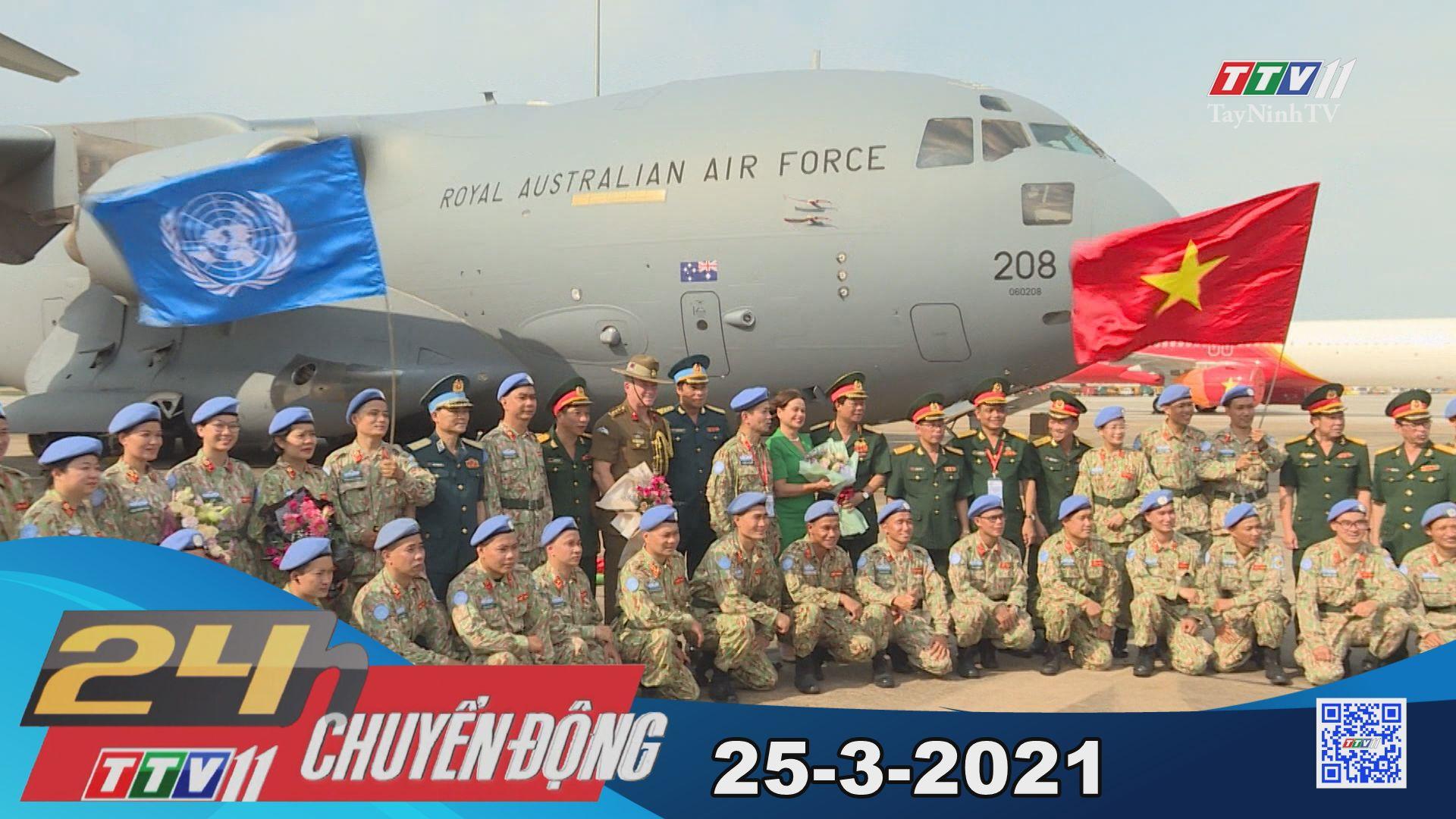 24h Chuyển động 25-3-2021 | Tin tức hôm nay | TayNinhTV
