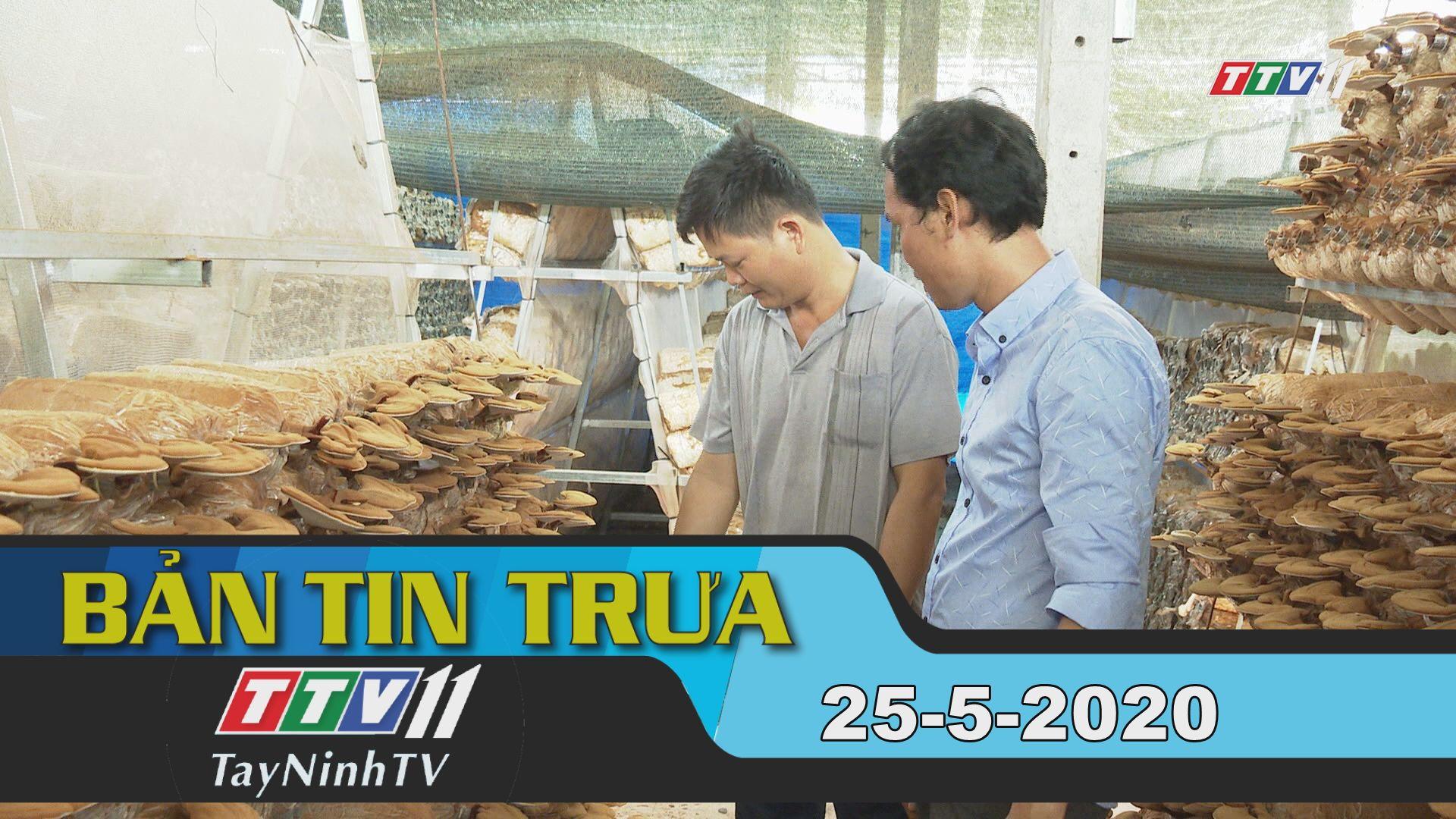Bản tin trưa 25-5-2020 | Tin tức hôm nay | TayNinhTV