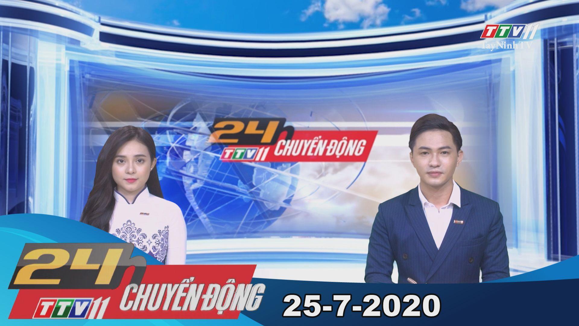 24h Chuyển động 25-7-2020 | Tin tức hôm nay | TayNinhTV
