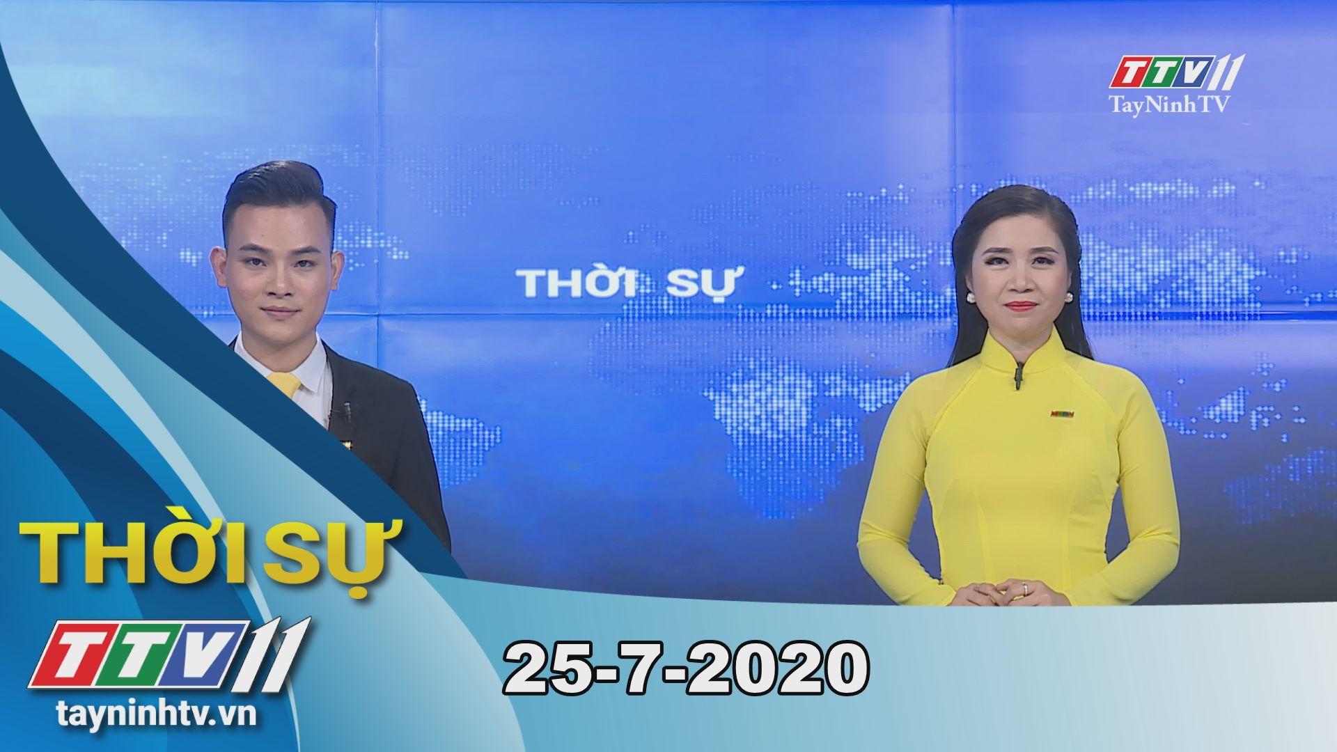 Thời sự Tây Ninh 25-7-2020 | Tin tức hôm nay | TayNinhTV