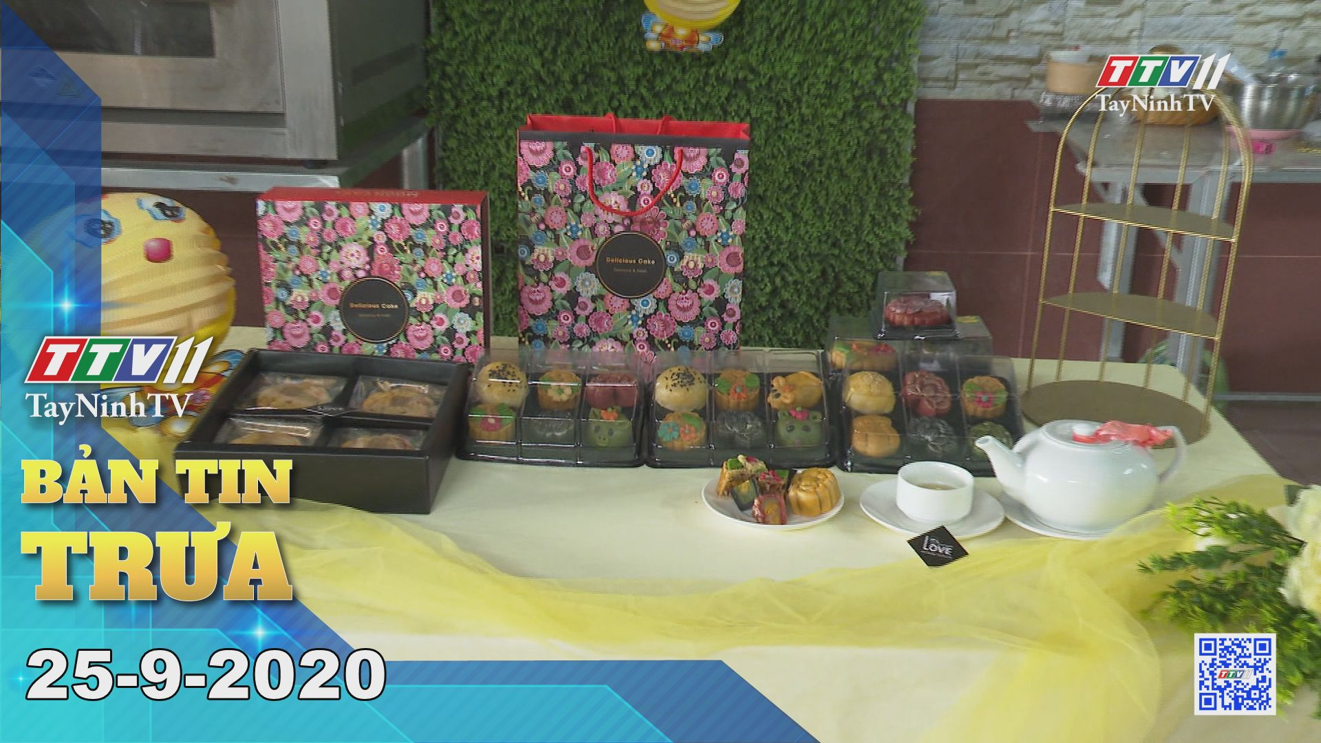 Bản tin trưa 25-9-2020 | Tin tức hôm nay | TayNinhTV