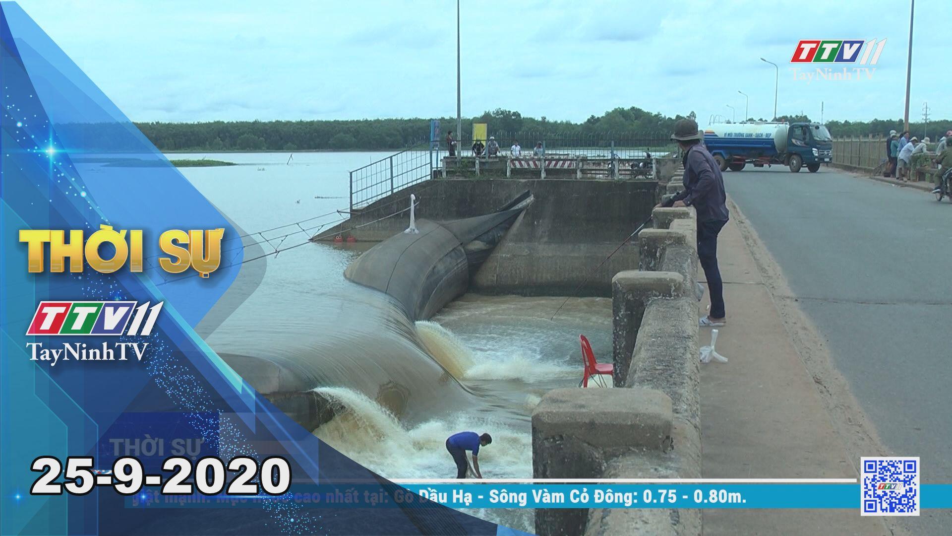Thời sự Tây Ninh 25-9-2020 | Tin tức hôm nay | TayNinhTV