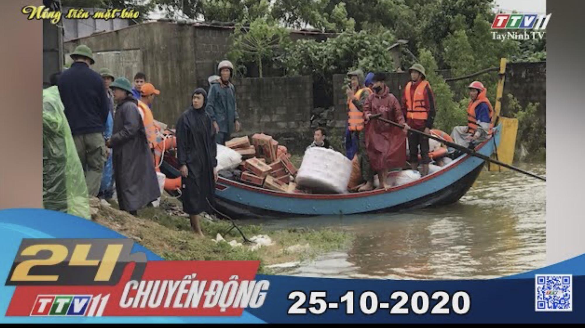 24h Chuyển động 25-10-2020 | Tin tức hôm nay | TayNinhTV