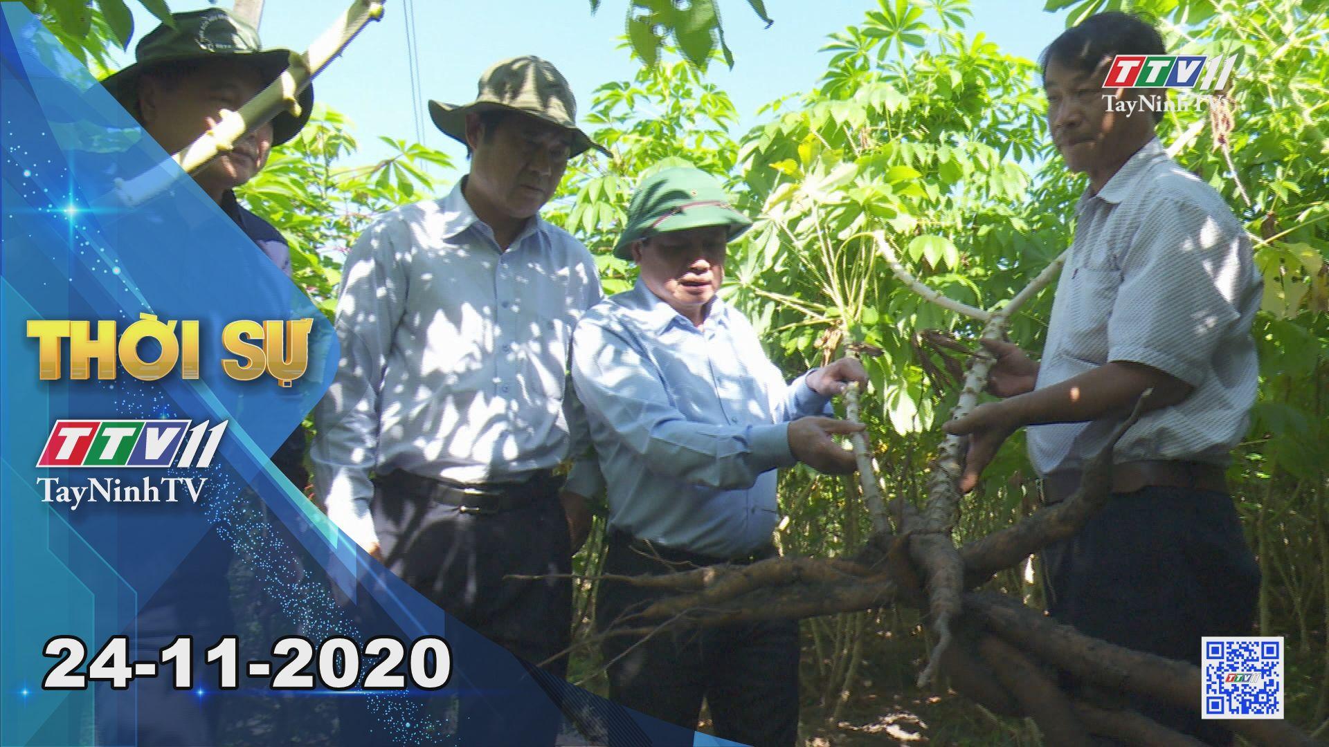 Thời sự Tây Ninh 24-11-2020 | Tin tức hôm nay | TayNinhTV