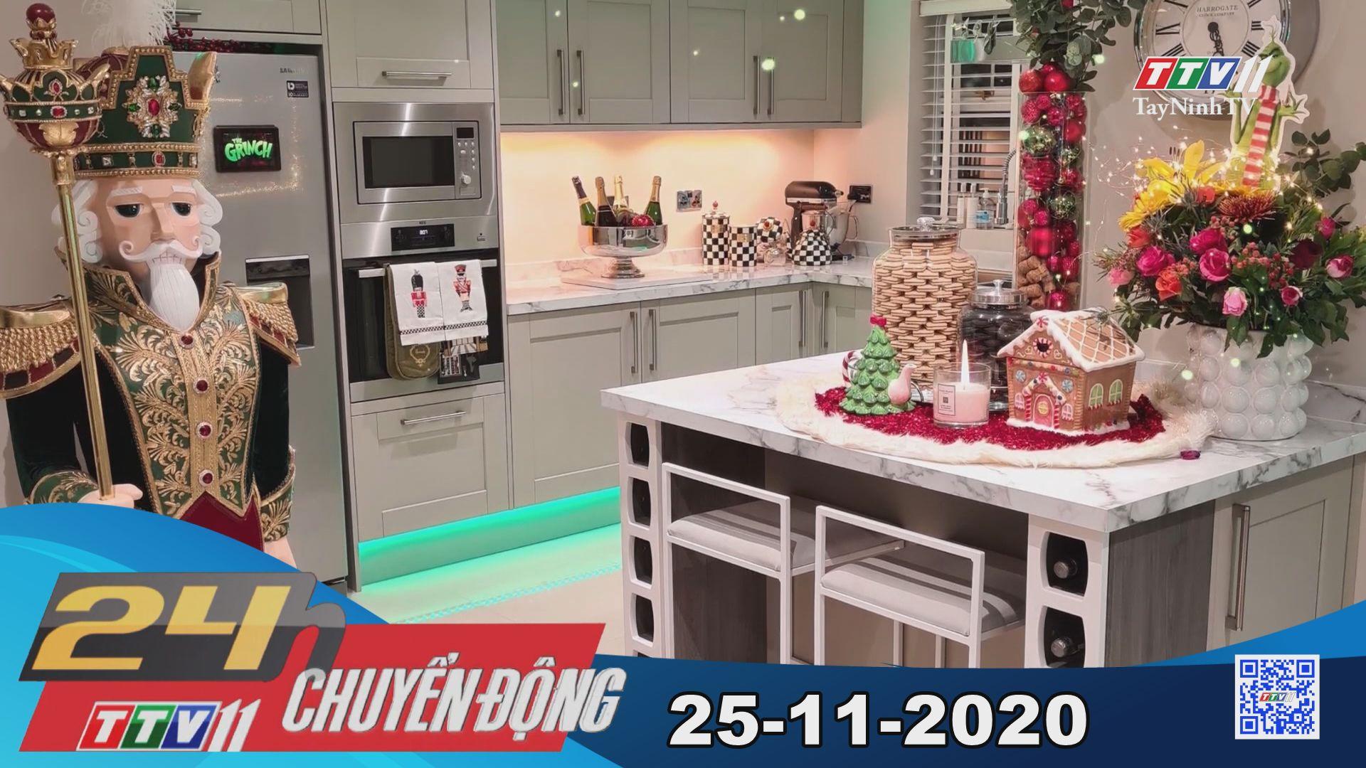 24h Chuyển động 25-11-2020 | Tin tức hôm nay | TayNinhTV