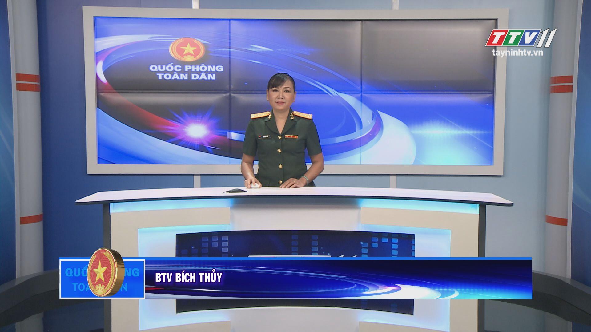 Lực lượng vũ trang Tây Ninh chặng đường vẻ vang và tiếp bước | QUỐC PHÒNG TOÀN DÂN | TayNinhTV