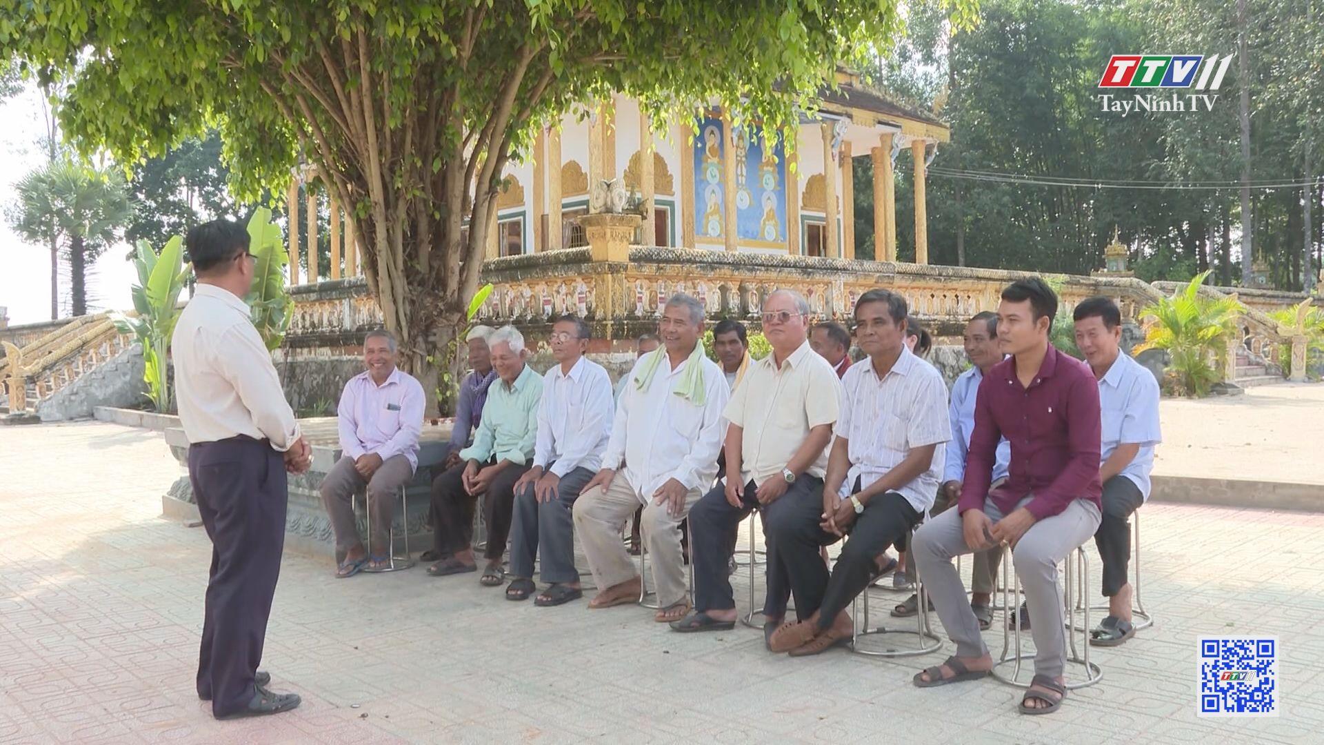 Người Khmer một lòng theo Đảng | TIẾN TỚI ĐẠI HỘI ĐẢNG | TayNinhTV