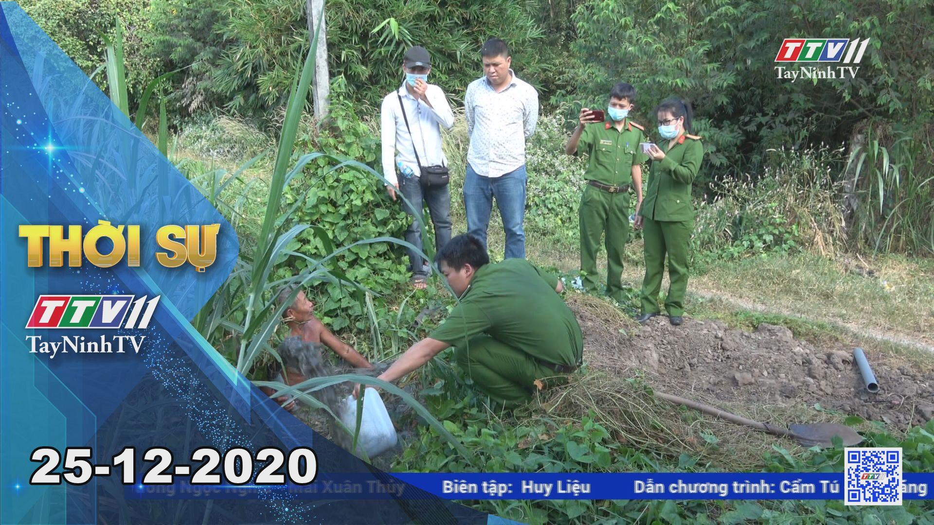 Thời sự Tây Ninh 25-12-2020 | Tin tức hôm nay | TayNinhTV