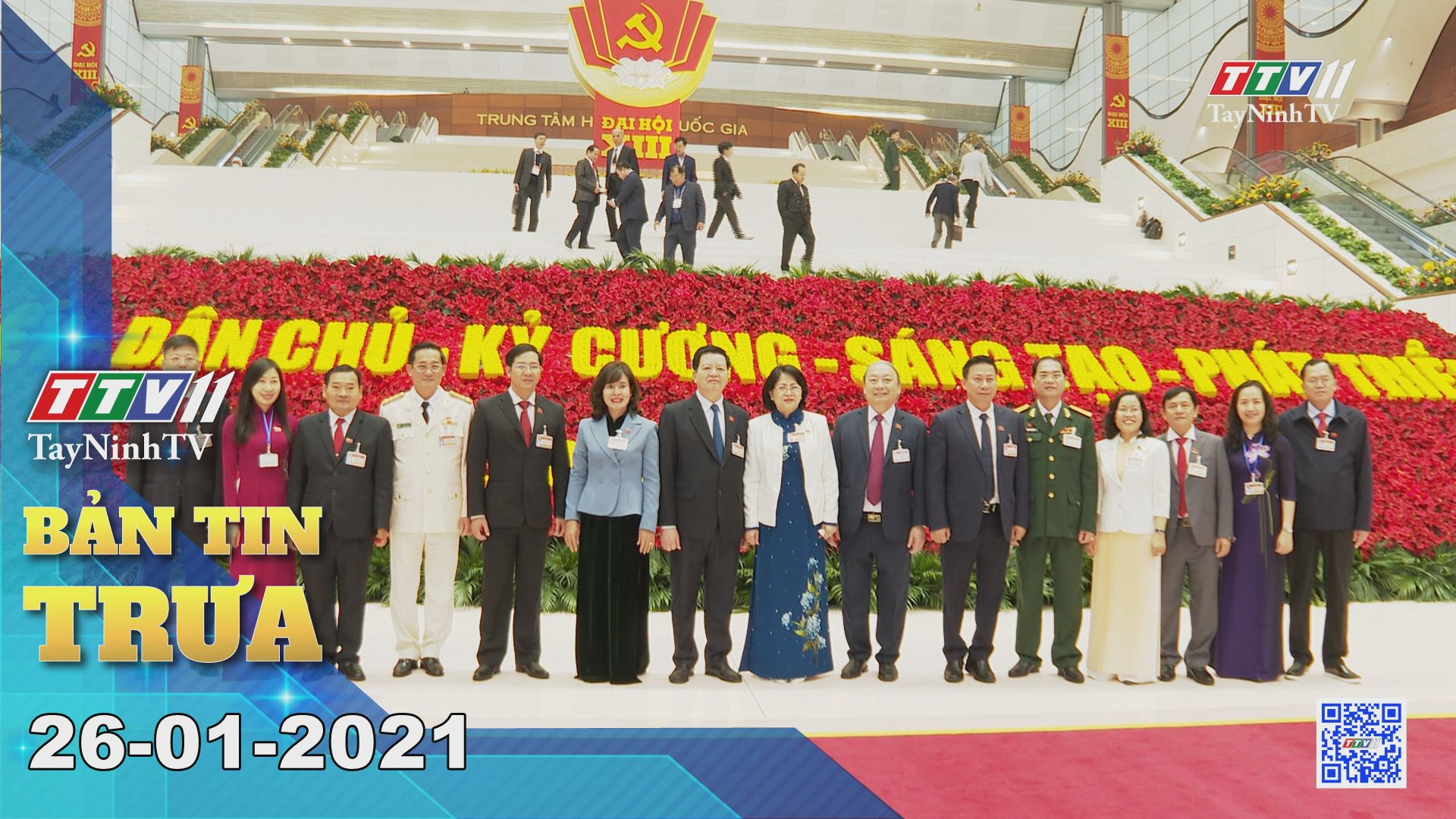 Bản tin trưa 26-01-2021 | Tin tức hôm nay | TayNinhTV