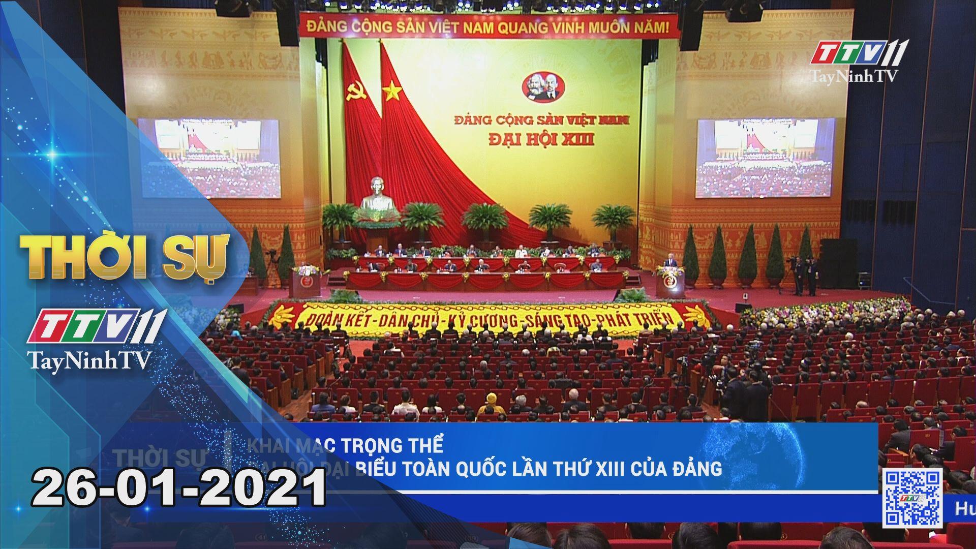 Thời sự Tây Ninh 26-01-2021 | Tin tức hôm nay | TayNinhTV