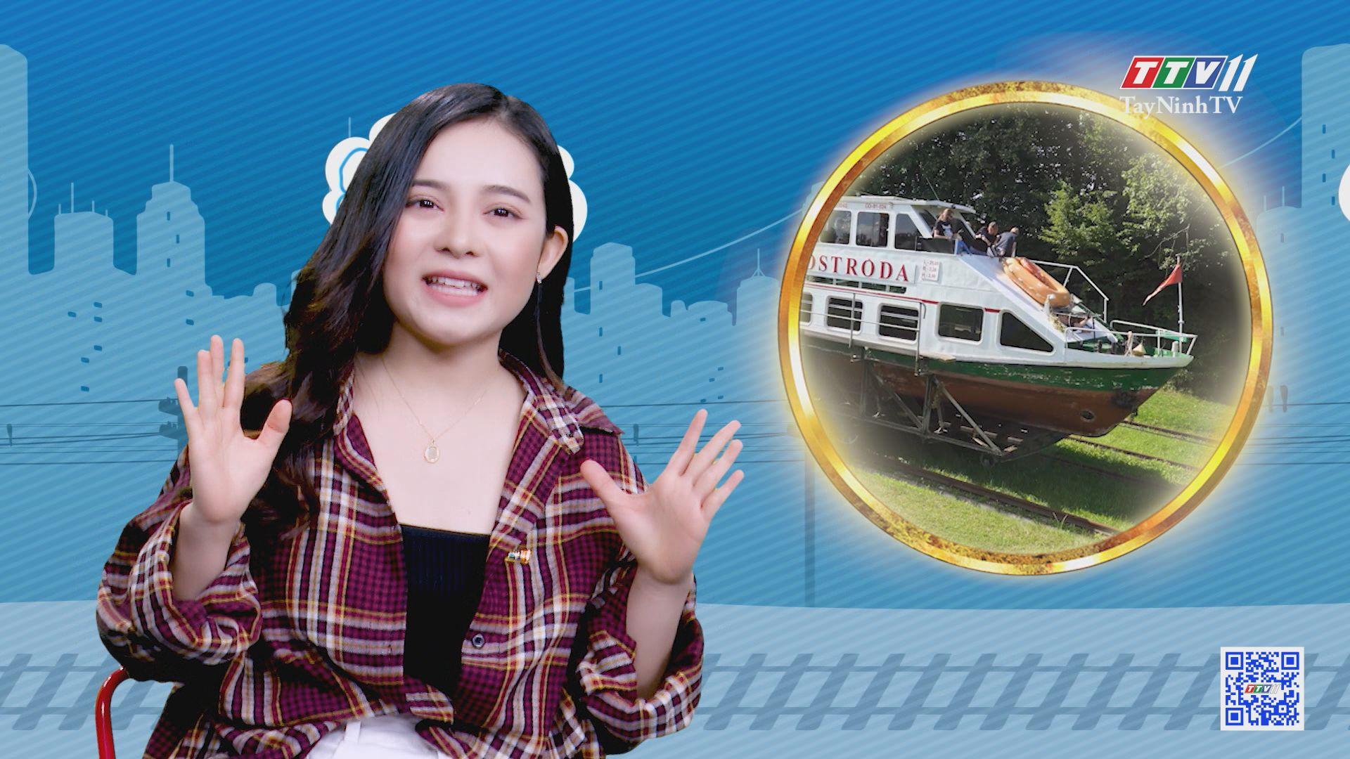 Độc đáo cách vận chuyển tàu thuyền qua dốc lớn | CHUYỆN ĐÔNG TÂY KỲ THÚ | TayNinhTVE