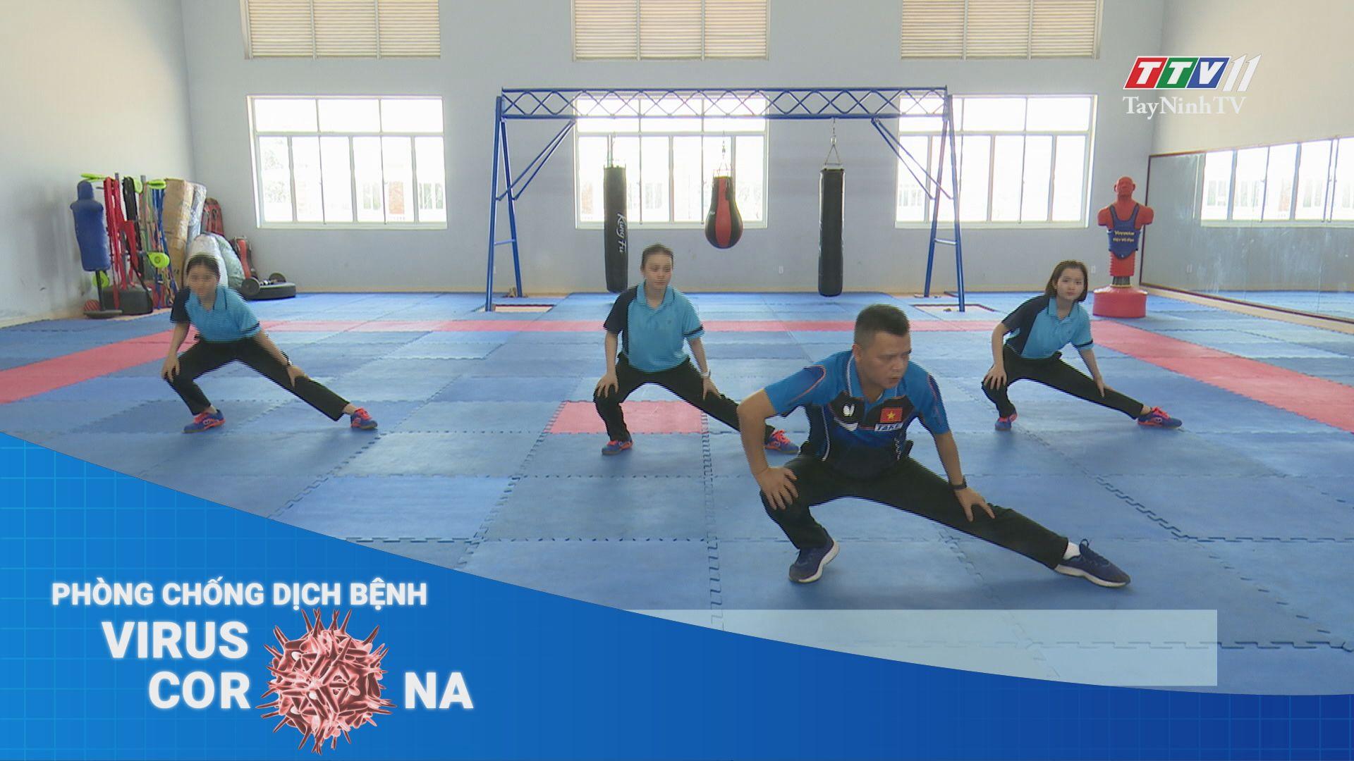 Hướng dẫn tập thể dục tại nhà mùa dịch | THÔNG TIN DỊCH CÚM COVID-19 | TayNinhTV