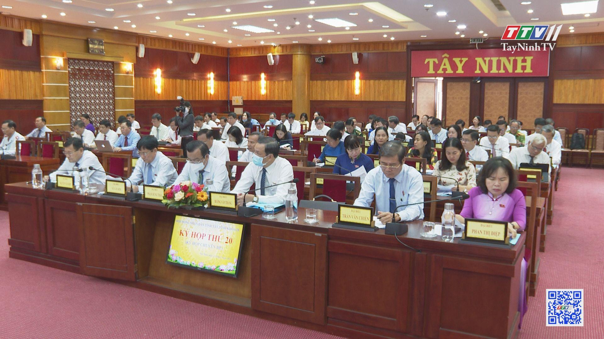 Kết quả hoạt động HĐND tỉnh Tây Ninh nhiệm kỳ 2016-2021 | TIẾNG NÓI CỬ TRI | TayNinhTV