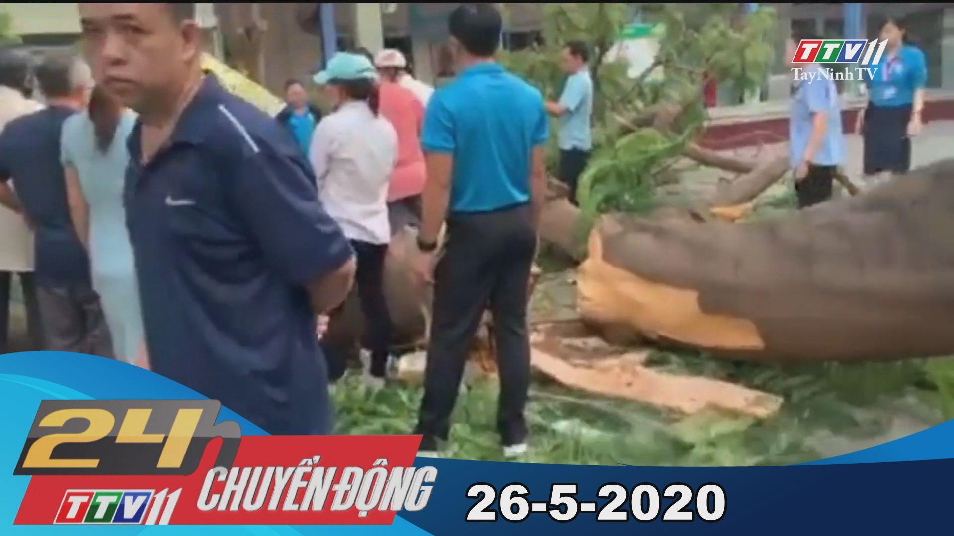 24h Chuyển động 26-5-2020 | Tin tức hôm nay | TayNinhTV
