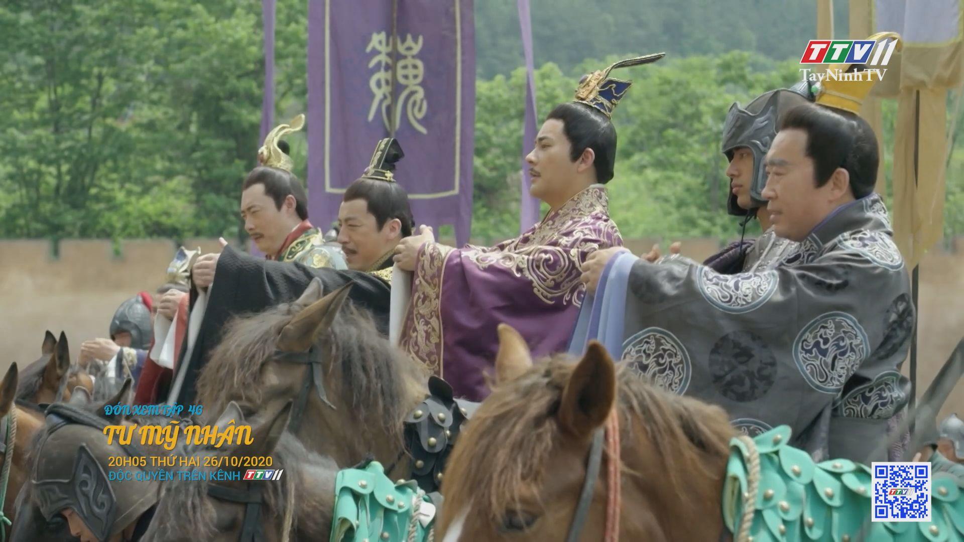 Tư mỹ nhân-TẬP 46 trailer | PHIM TƯ MỸ NHÂN | TayNinhTV