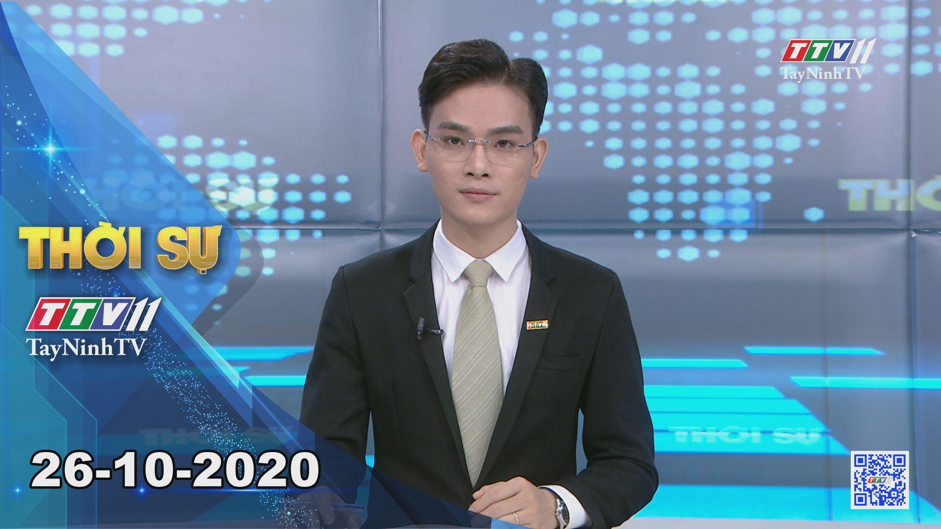 Thời sự Tây Ninh 26-10-2020 | Tin tức hôm nay | TayNinhTV