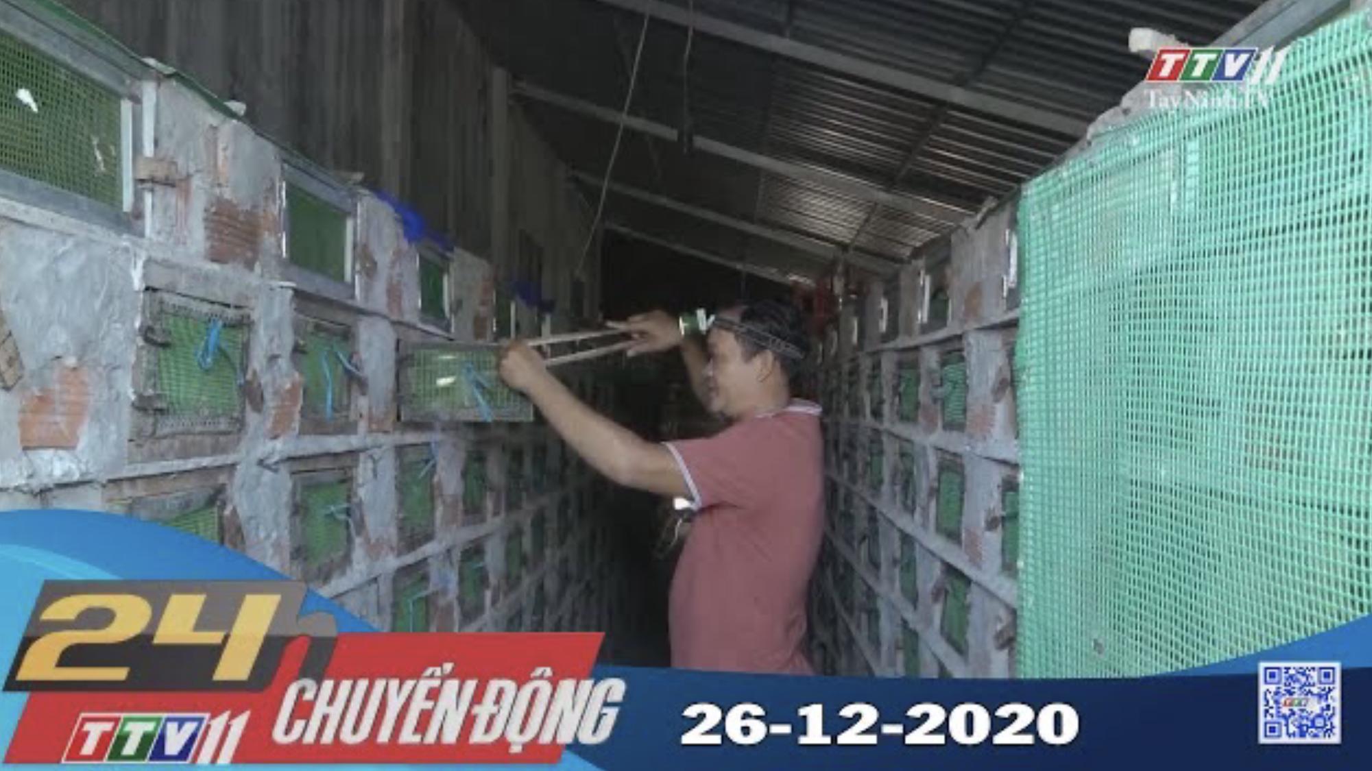 24h Chuyển động 26-12-2020 | Tin tức hôm nay | TayNinhTV