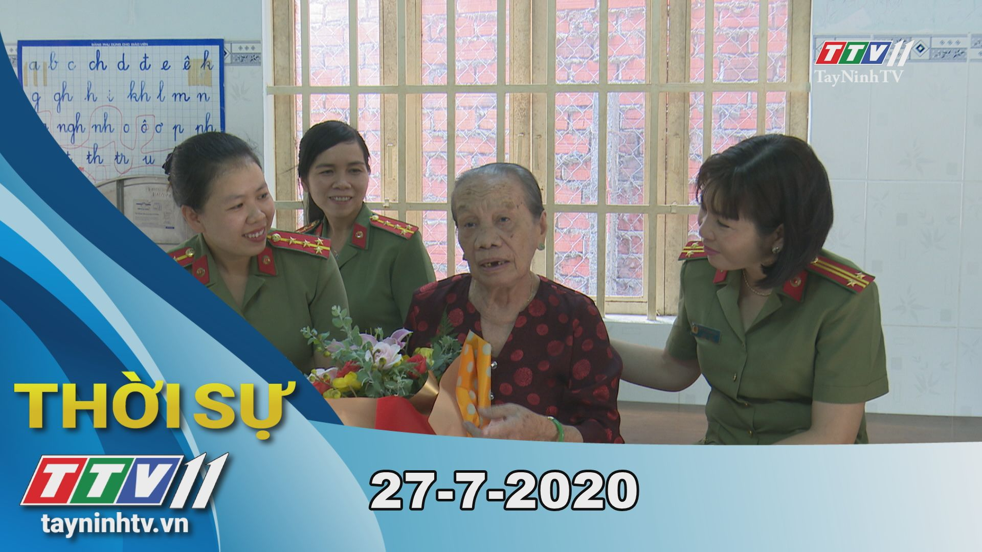 Thời sự Tây Ninh 27-7-2020 | Tin tức hôm nay | TayNinhTV