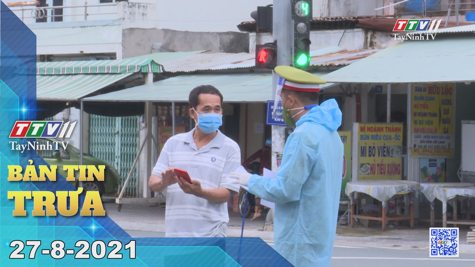 Bản tin trưa 27-8-2021 | Tin tức hôm nay | TayNinhTV