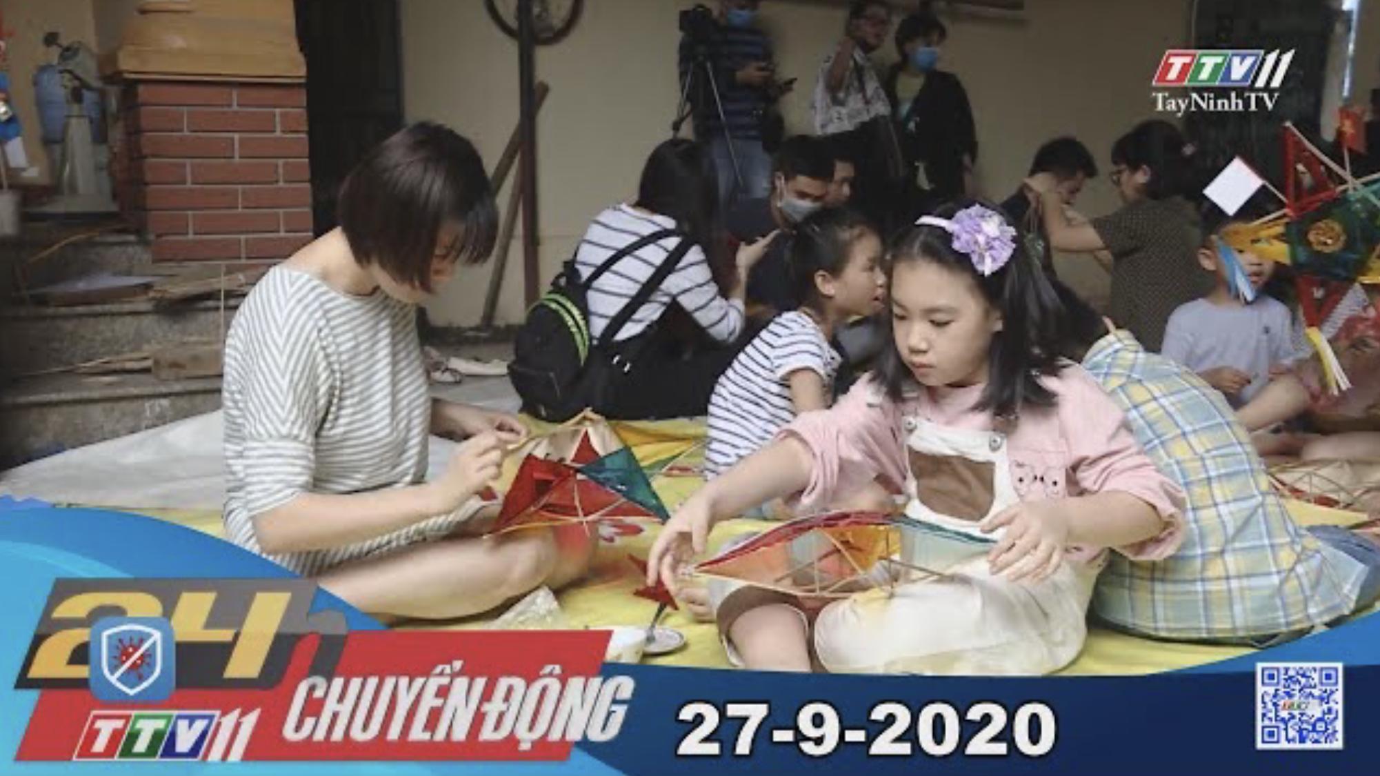 24h Chuyển động 27-9-2020 | Tin tức hôm nay | TayNinhTV