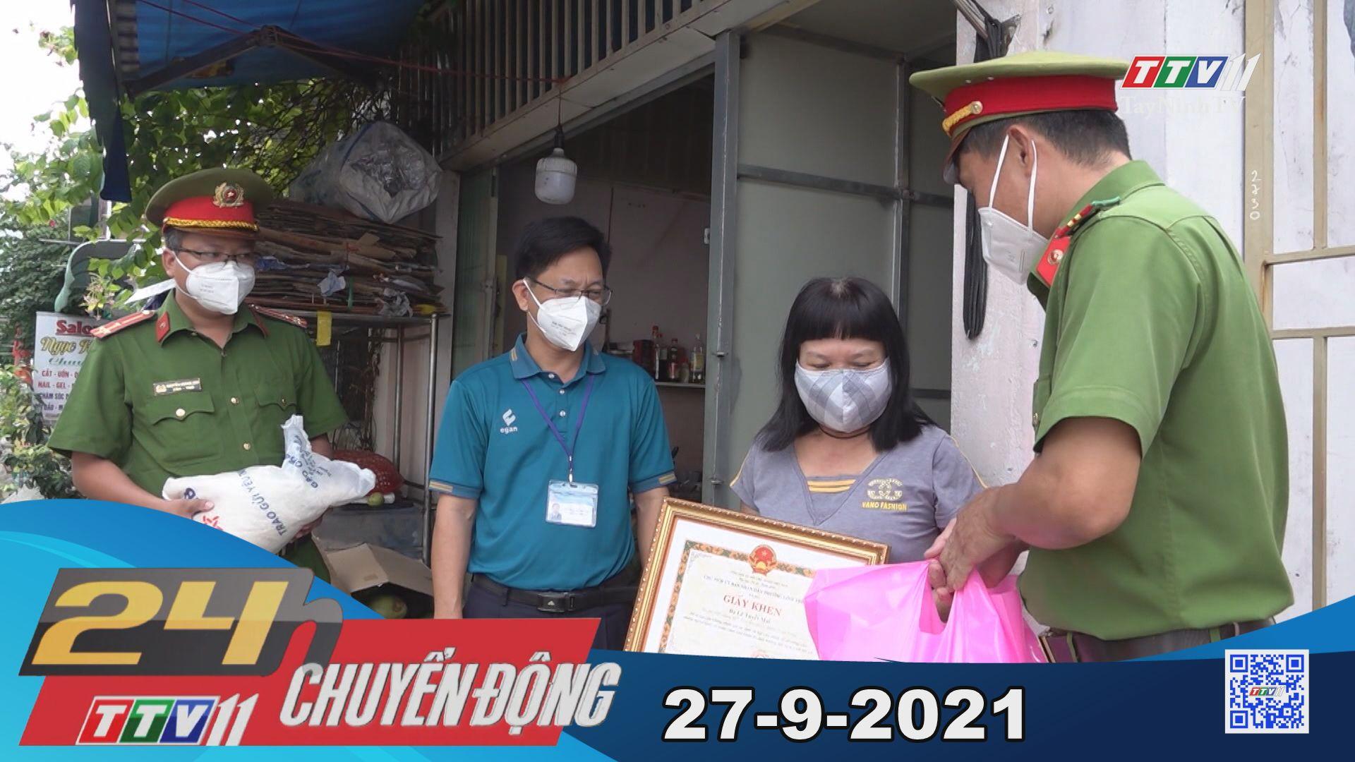 24h Chuyển động 27/9/2021 | Tin tức hôm nay | TayNinhTV