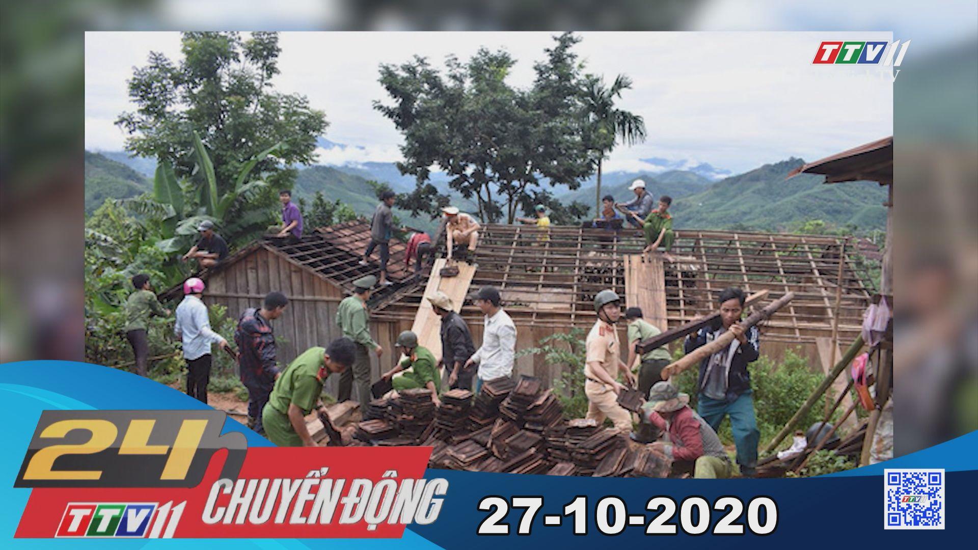 24h Chuyển động 27-10-2020 | Tin tức hôm nay | TayNinhTV