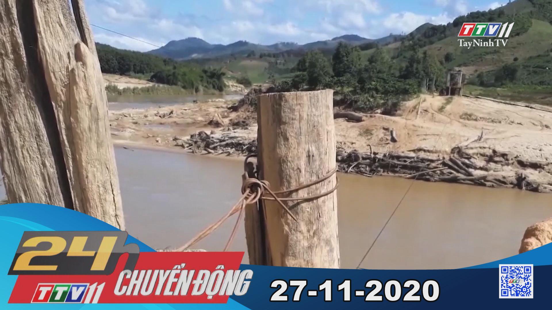 24h Chuyển động 27-11-2020 | Tin tức hôm nay | TayNinhTV
