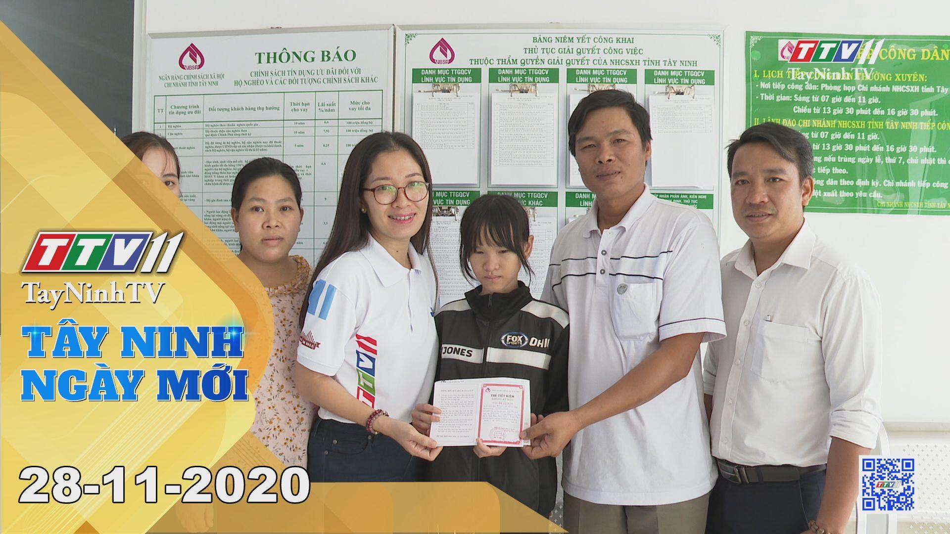 Tây Ninh Ngày Mới 28-11-2020 | Tin tức hôm nay | TayNinhTV