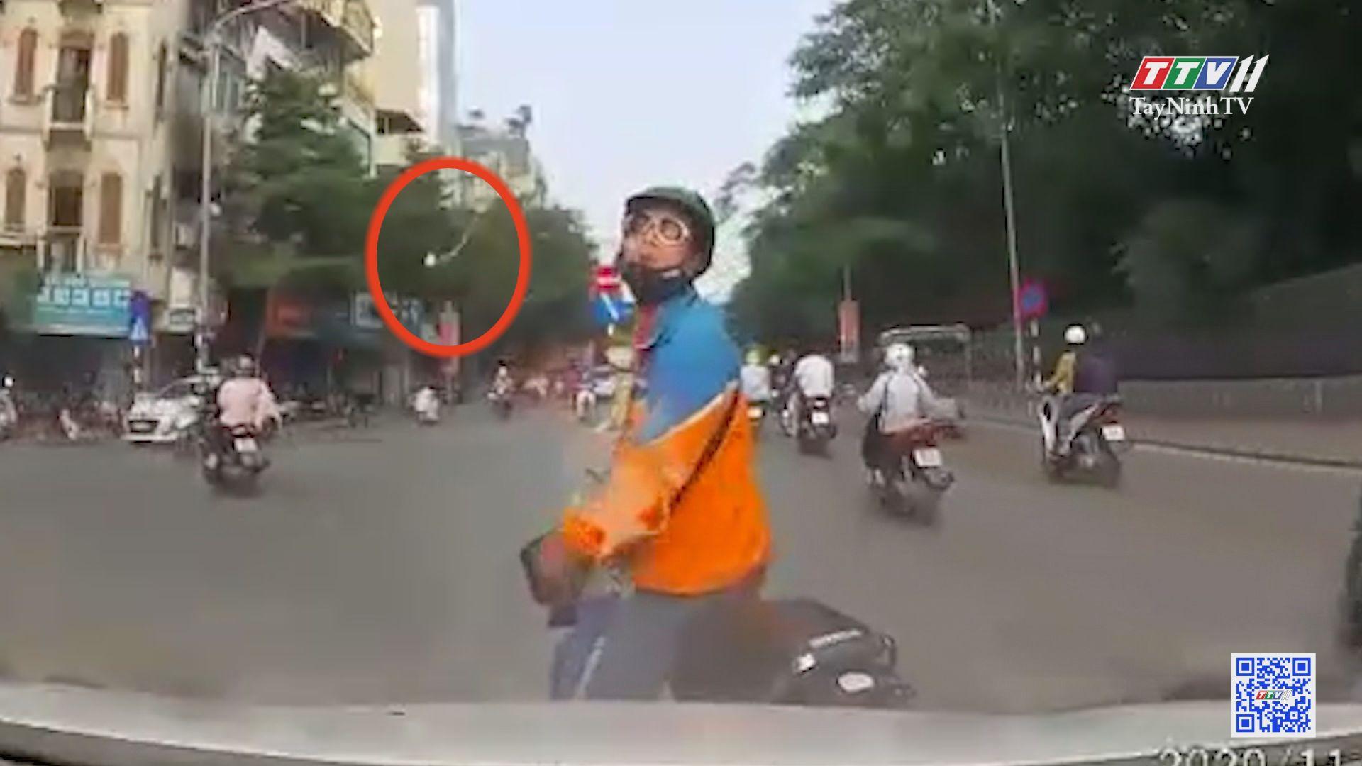Va chạm giao thông... dùng hung khí... lạ | GIAO LỘ BÌNH AN | TayNinhTVE