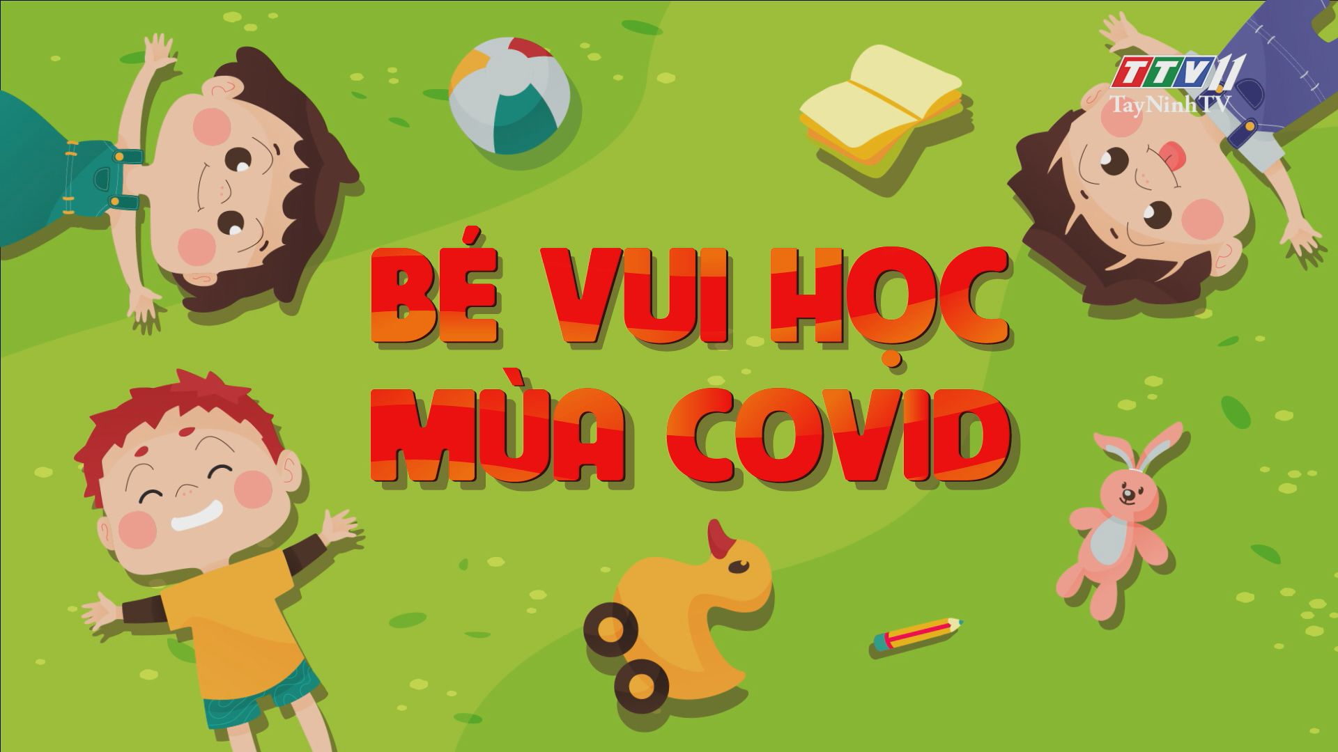 Cùng bé tập thể dục cho đôi mắt | BÉ VUI HỌC MÙA COVID | TayNinhTV