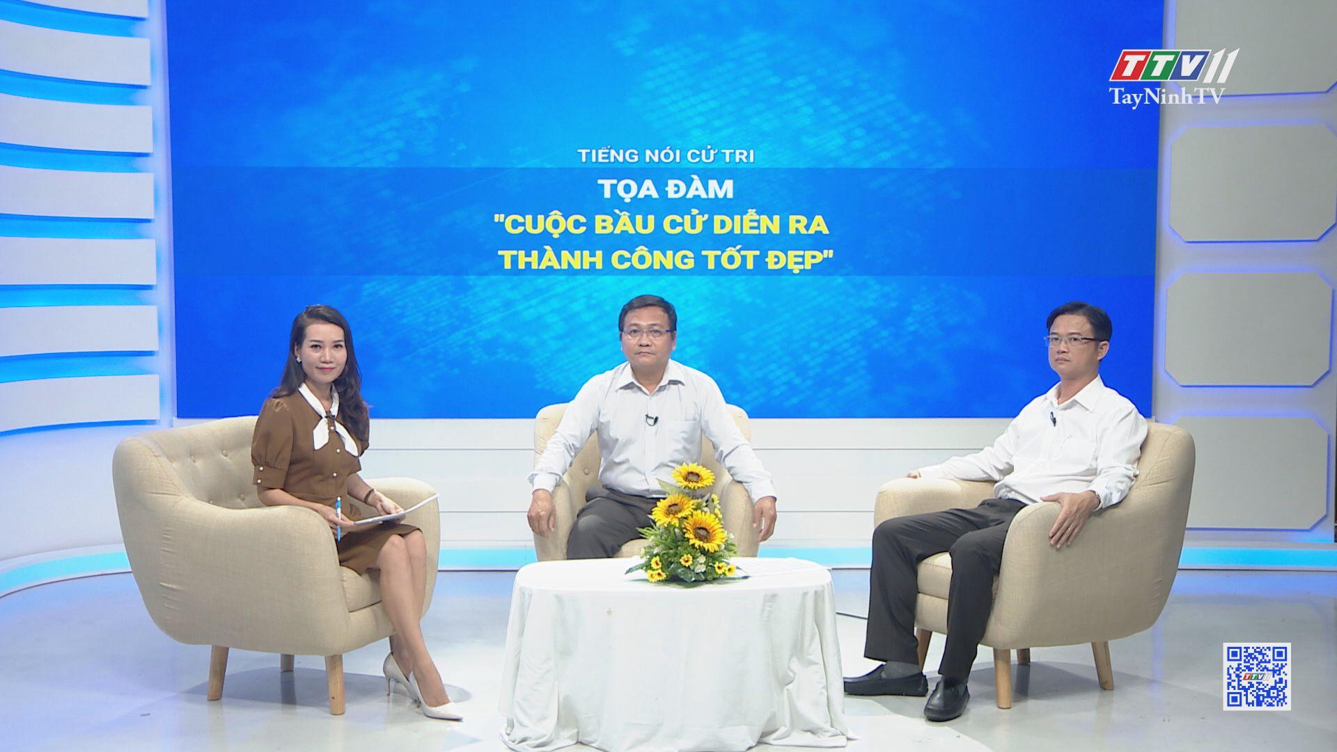 Cuộc bầu cử diễn ra thành công tốt đẹp   TIẾNG NÓI CỬ TRI   TayNinhTV