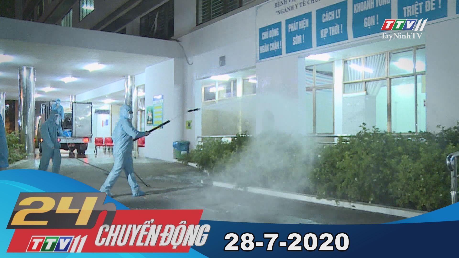 24h Chuyển động 28-7-2020 | Tin tức hôm nay | TayNinhTV