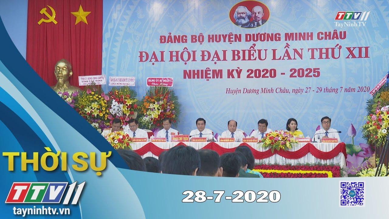 Thời sự Tây Ninh 28-7-2020 | Tin tức hôm nay | TayNinhTV