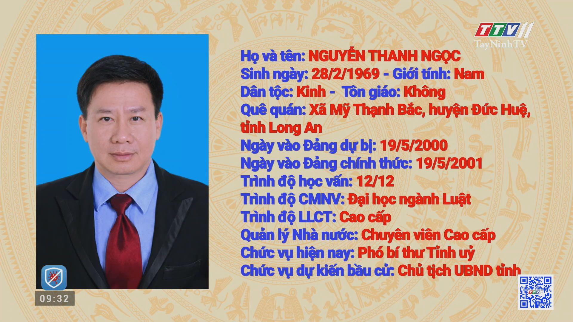 BẦU CỬ CHỦ TỊCH UBND TỈNH TÂY NINH | Truyền hình Tây Ninh | TayNinhTV