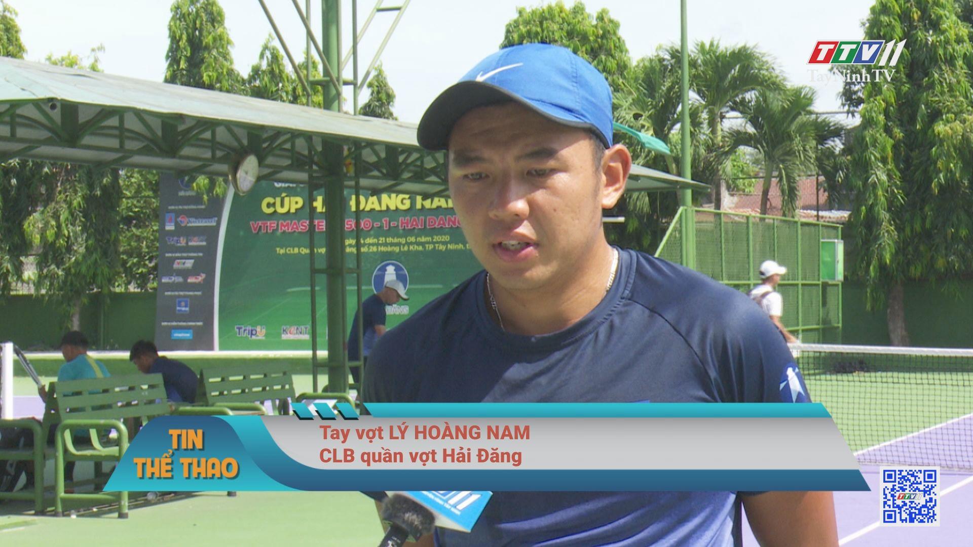 CLB quần vợt Hải Đăng trước những khó khăn từ đại dịch Covid-19   BẢN TIN THỂ THAO   TayNinhTV