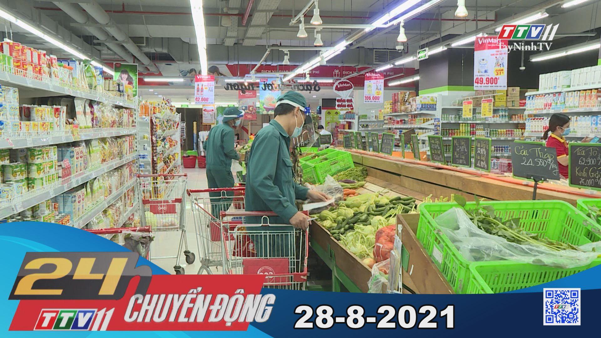 24h Chuyển động 28-8-2021 | Tin tức hôm nay | TayNinhTV