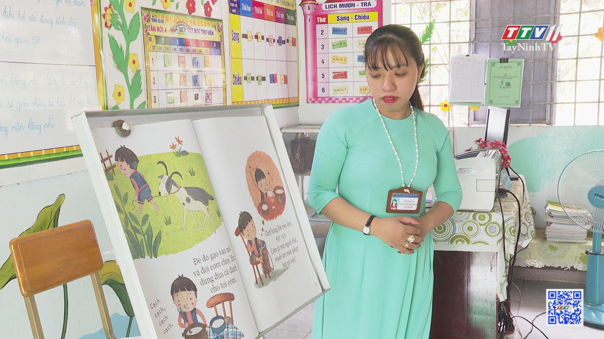 Hiệu quả mô hình thư viện thân thiện | GIÁO DỤC VÀ ĐÀO TẠO | TayNinhTV