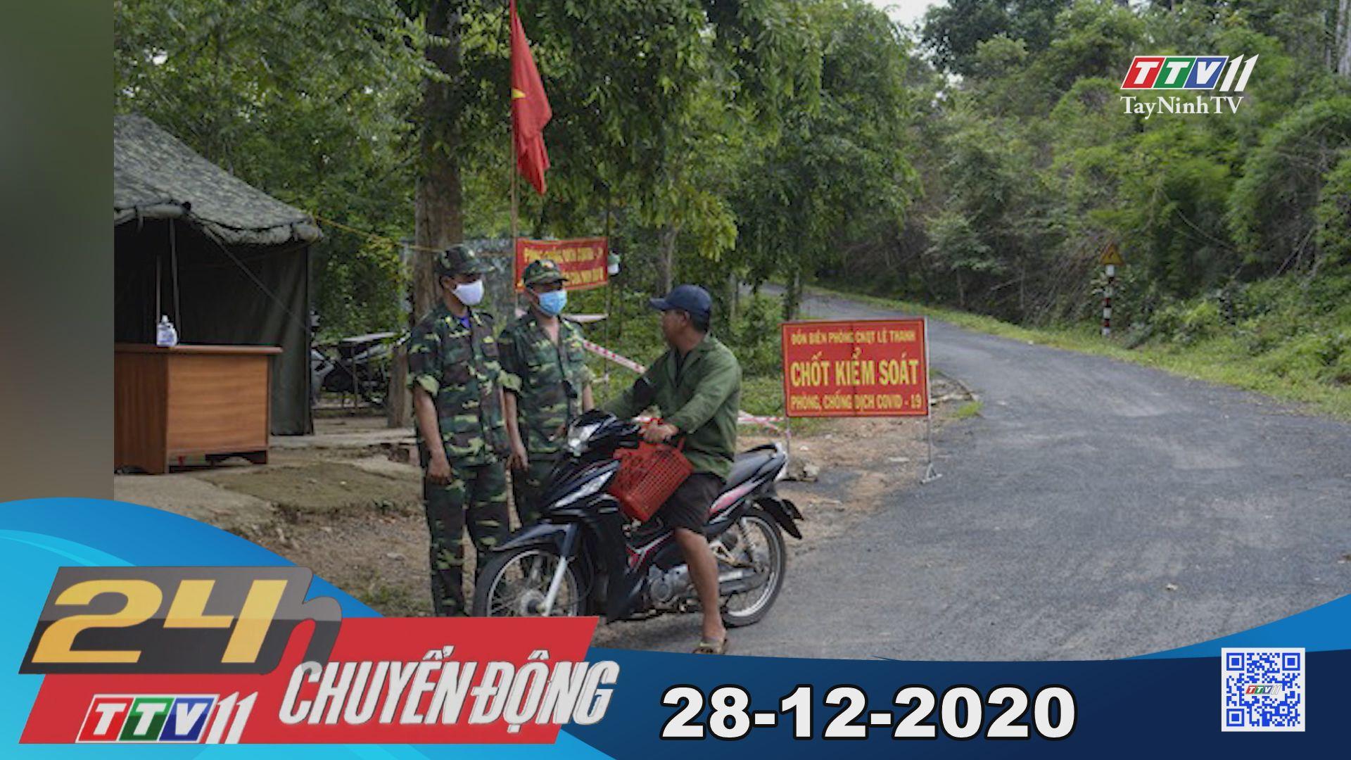 24h Chuyển động 28-12-2020 | Tin tức hôm nay | TayNinhTV