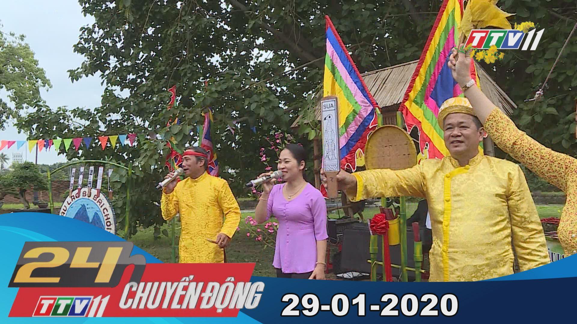 24h Chuyển động 29-01-2020 | Tin tức hôm nay | TayNinhTV