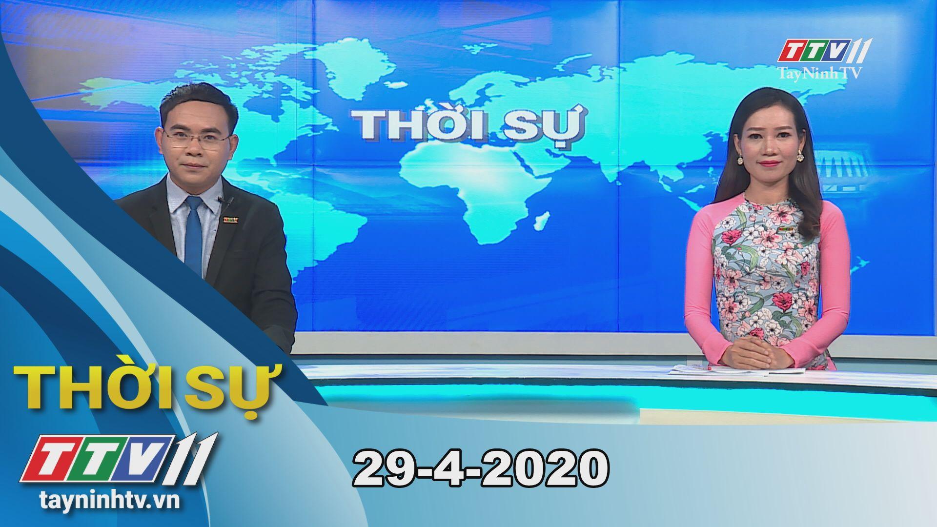 Thời sự Tây Ninh 29-4-2020 | Tin tức hôm nay | TayNinhTV
