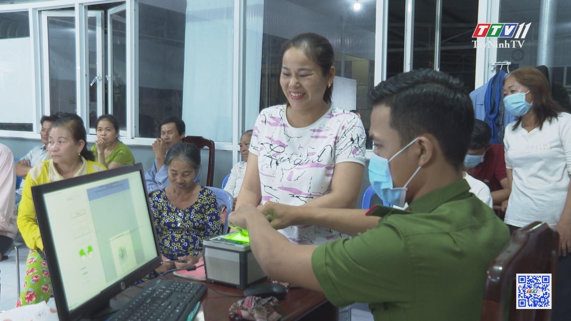 Công tác cấp thẻ CCCD gắn chíp điện tử trên địa bàn tỉnh Tây Ninh   TIẾNG NÓI CỬ TRI   TayNinhTV