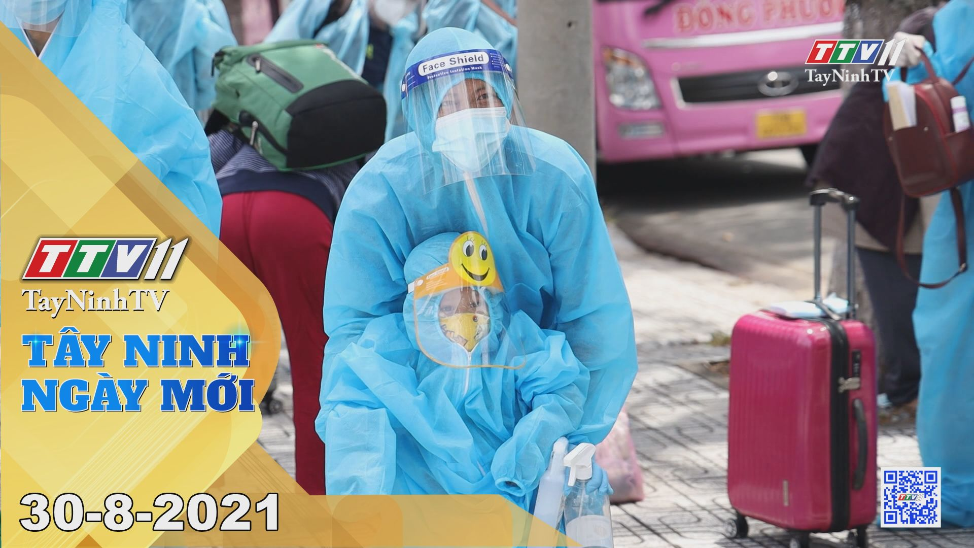Tây Ninh Ngày Mới 30-8-2021 | Tin tức hôm nay | TayNinhTV